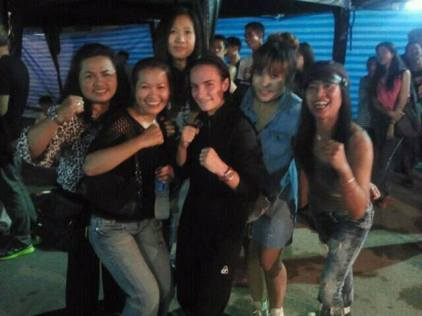All Female Cheering Club - Muay Thai