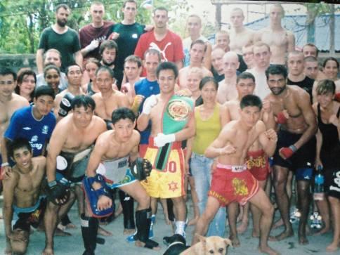 Lanna Muay Thai - Group Photo Khem