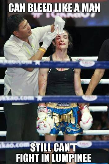 meme - Sylvie von Duuglas-Ittu - Muay Thai - bloody