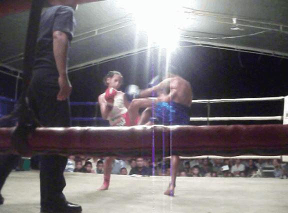 PhetJee Jaa - Fight number 1