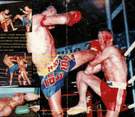 Sakmongkol with Ramon Dekkers - Muay Thai