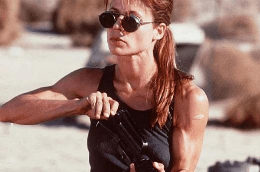 Sarah Conner Terminator 2 - Body Inspiration