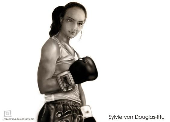 Fan Art Portrait of Emma B - Sylvie von Duuglas-Ittu