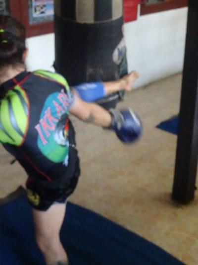 Ikkari - Sylvie von Duuglas-Ittu - kick on bag 2