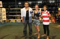 Sylvie and Phetjee Jaa - victory