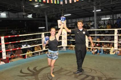Sylvie von Duuglas-Ittu - 100th fight