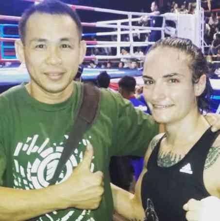 Daeng and Sylvie - Fight 133 - Lanna Muay Thai-w1400