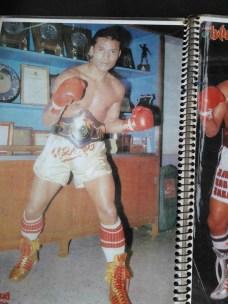 Sagat Petchyindee - Street Fighter Posing With Belt - 8limbs.us