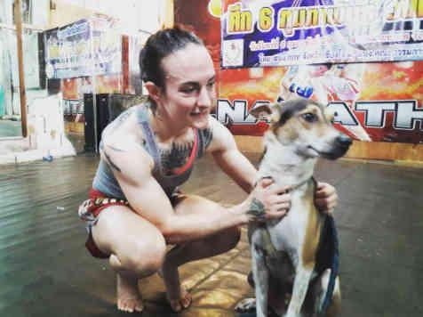 Jaidee Muay Thai Dog