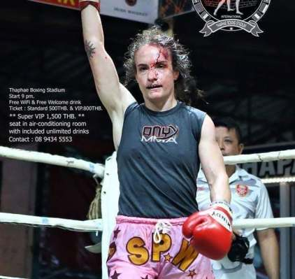 Fight 228 Sylvie victory