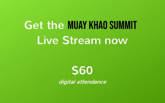 Muay Khao Summit live stream