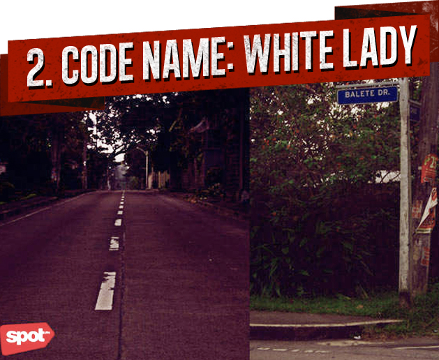 2. CODE NAME: WHITE LADY