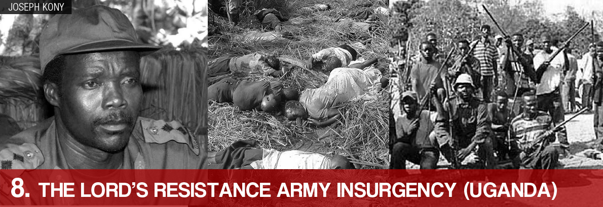 8. The Lord's Resistance Army Insurgency (Uganda)