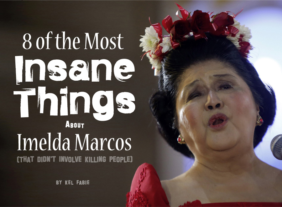 8 of the Most Insane Things About Imelda Marcos