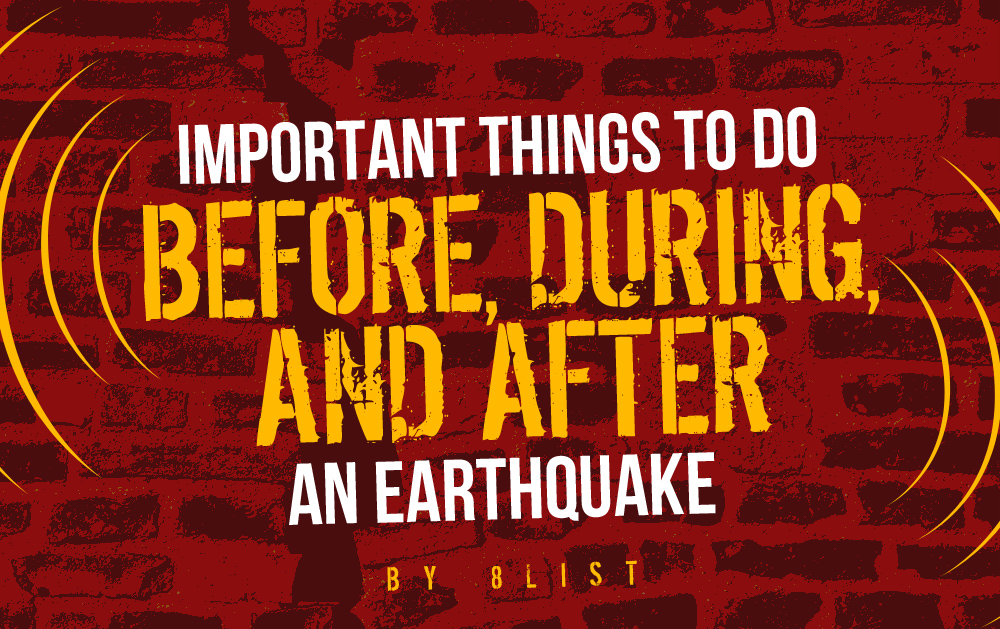 Important things to do before during and after an earthquake for Where to go in an earthquake