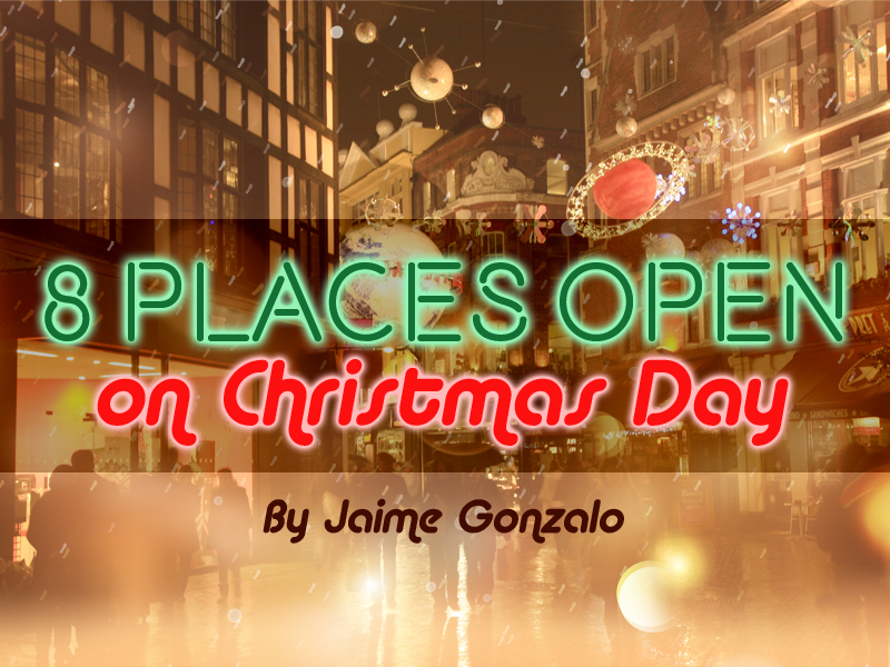 8 Places Open on Christmas Day