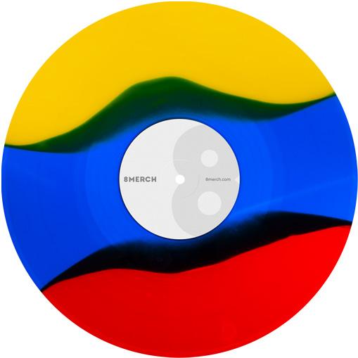 3 Color Stripes Specjal Effects Vinyl Image