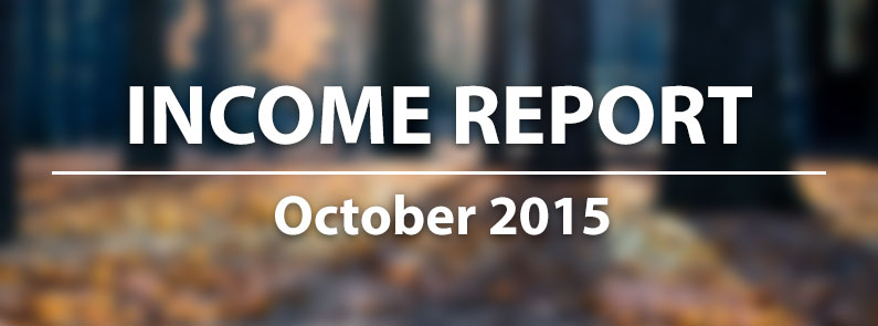 Income Report: October 2015