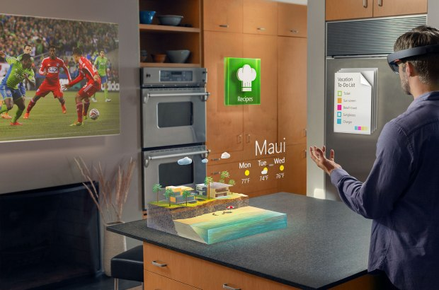 HoloLens: heightened digital reality