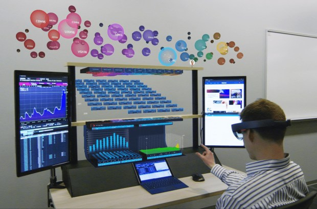 "8ninths Develops ""Holographic Workstation""™ for Citi Traders using Microsoft HoloLens"