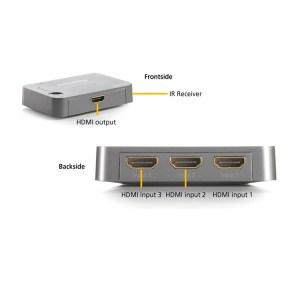 Connect 310 UHD 3 entradas/1 salida UHD | Marmitek