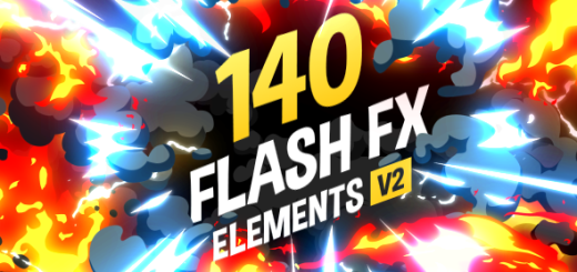 Flash FX Elements After Effects Project version 2