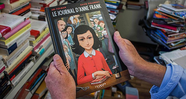Anne Franks dagbok har blivit seriebo