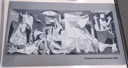 ピカソゲルニカ00_3日目3ソフィア王妃芸術センター_ある日本人観光客のスペイン旅行記