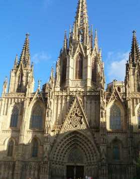 カテドラル00_4-3バルセロナ_ある日本人観光客のスペイン旅行記