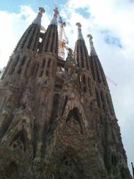 サグラダファミリア00画像_バルセロナ5-3ある日本人観光客のスペイン旅行記