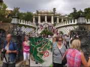グエル公園99正面_バルセロナ5-2ある日本人観光客のスペイン旅行記