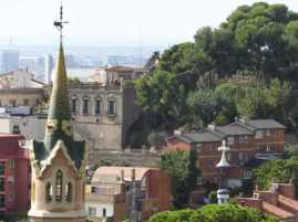 グエル公園60ガウディ邸_バルセロナ5-2ある日本人観光客のスペイン旅行記