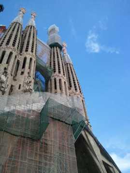 サグラダファミリア01受難の門_バルセロナ5-5ある日本人観光客のスペイン旅行記