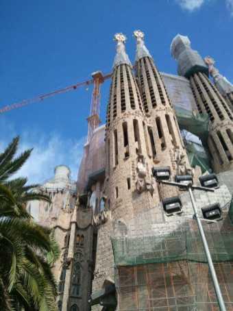サグラダファミリア02完成前_バルセロナ5-4ある日本人観光客のスペイン旅行記
