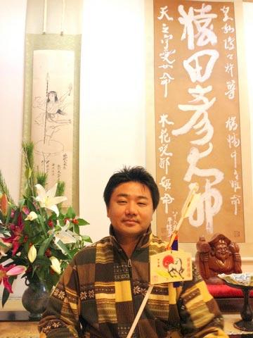 地元、三重の椿神社で、猿田彦さんと天之鈿女命さんと一緒に(^O^)