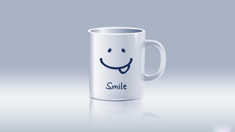 03d-smiley-cup-wallpaper