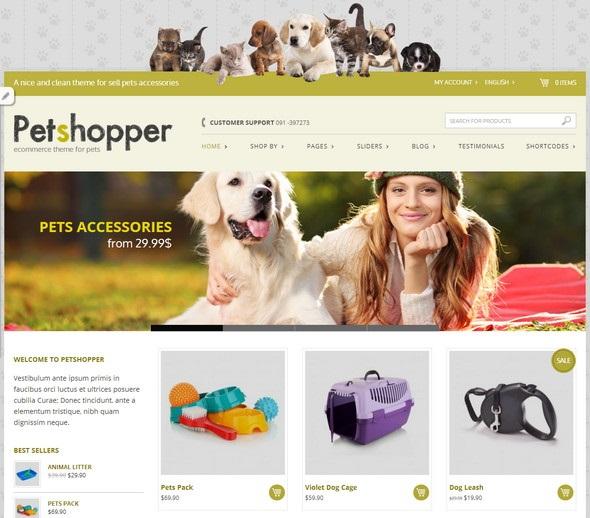 Petshopper-ecommerce-theme