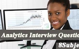 data analytics interview questions