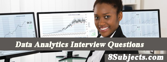 data analytics interview questions