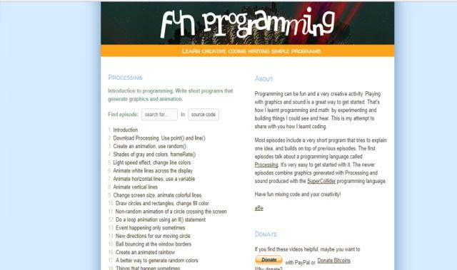 fun programming