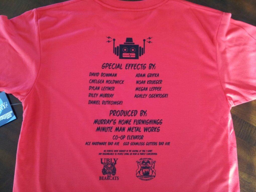 5155 Bearcats shirt back