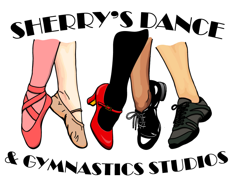 Sherry's Dance Studio logo design