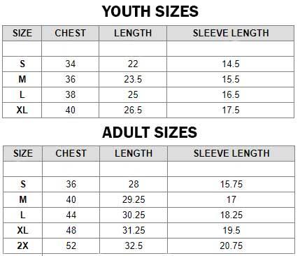 Gildan Softstyle T Size Chart