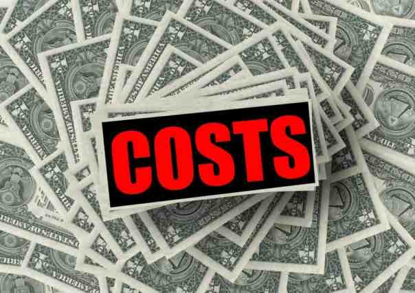 Costs for in-house staff in agency