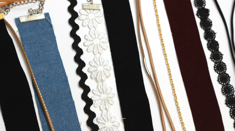 DIY Chokers |14 different styles trending right now