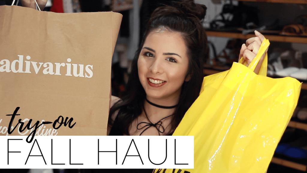 Fall Haul Try-on + Tips para comprar: H&M, Forever 21, Stradivarius y Bershka. Checa el video completo en el canal de 8va Avenida.