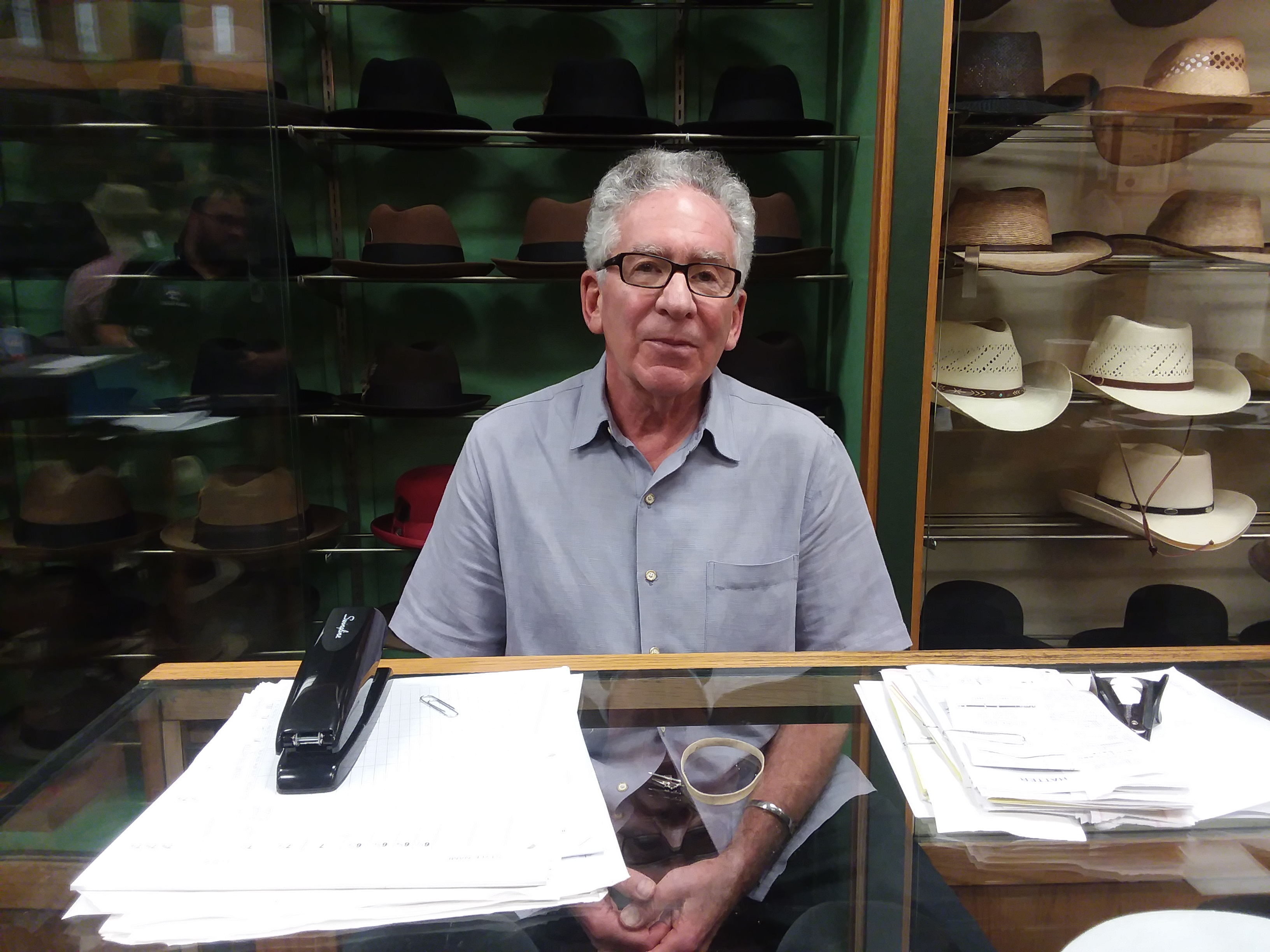 PODCAST  Henry the Hatter owner Paul Wasserman reflects on end of 65 ... 6f647ff31f74