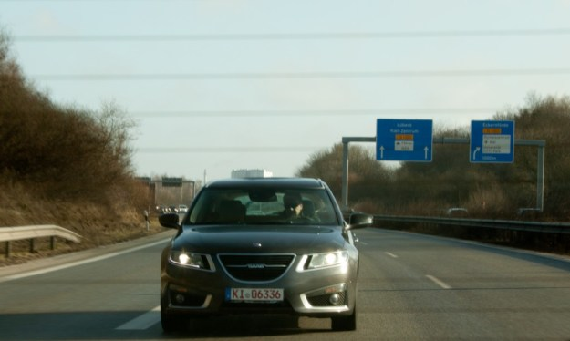 Nr 46 on the German Autobahn.