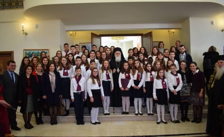 Kremtim solemn në ditën e emrit të Kryepiskopit Anastas