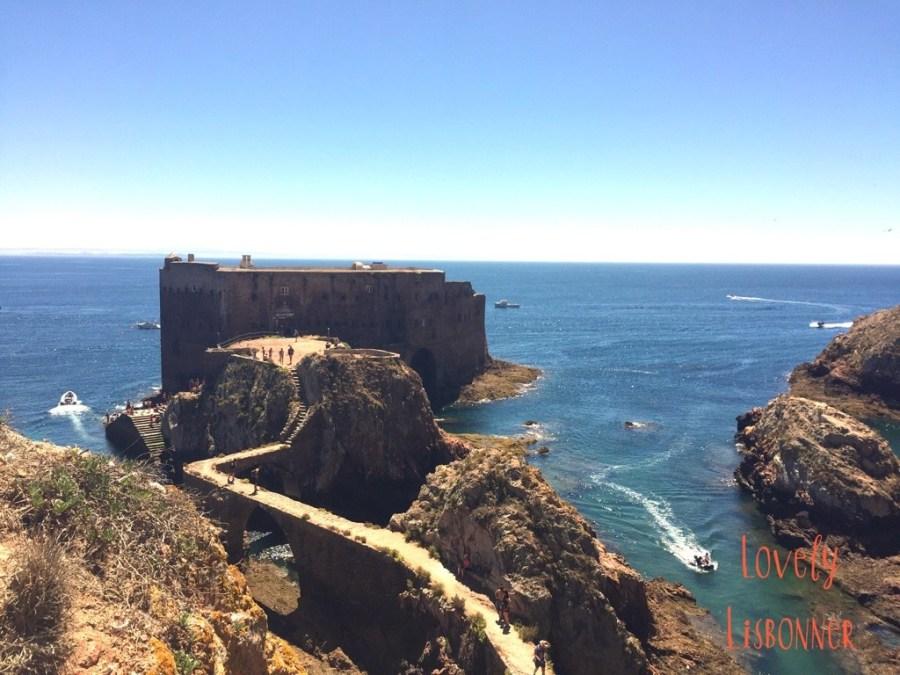 Berlengas forte de são joão batista portugal reserva mundial biosfera